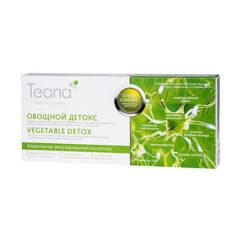 Teana   სახის შრატი კანის დეტოქსიკაცია და კვება VEGETABLE DETOX