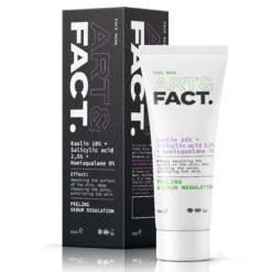 Себорегулирующая и очищающая угольная маска для лица KAOLIN 10%+SALICYLIC ACID 2,5%+HEMISQUALANE 9%
