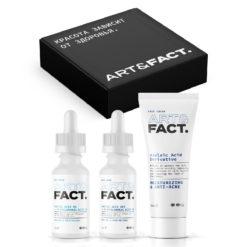 ART&FACT Подарочный набор. Средства для борьбы с пигментными пятнами на лице