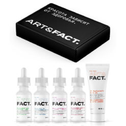 ART&FACT Подарочный набор. Средства для борьбы с возрастными изменениями