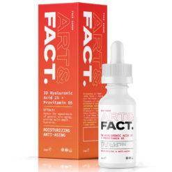 ART&FACT Увлажняющая антивозрастная сыворотка для лица с гиалуроновой кислотой 3D HYALURONIC ACID 2%+PROVITAMIN B5