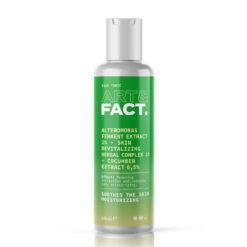ART&FACT Увлажняющий и успокаивающий тоник для лица с ферментами альтермонаса ALTEROMONAS FERMENT EXCTRACT 1%+HERBAL COMPLEX 1%+CUCUMBER EXTRACT 0,5%