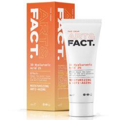 ART&FACT Матирующий, увлажняющий и анти-возрастной крем для лица с гиалуроновой кислотой 3D HYALURONIC ACID 2%