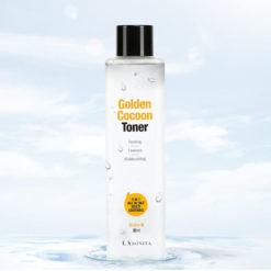 LABONITA გამაახალგაზრდავებელი სახის ტონერი აბრეშუმის ჭუპრის ოქროთი  და მცენარეული ექსტრაქტებით GOLDEN COCOON TONER 3 IN 1