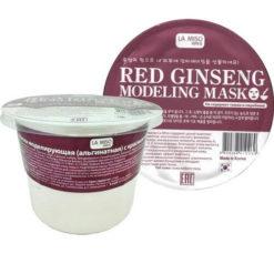 LA MISO  Маска моделирующая альгинатная с красным женьшенем RED GINSENG MODELING MASK (Для зрелой кожи любого типа)