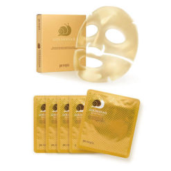 PETITFEE გამაახალგაზრდავებელი ჰიდროგელის ნიღაბი ოქროთი და ლოკოკინის მუცინით GOLD&SNAIL