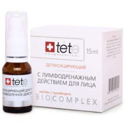 TETe ბიოკომპლექსი დეტოქსიკაცია და ლიმფოდრენაჟი BIOCOMPLEX DETOXIFYING THERAPY 30+