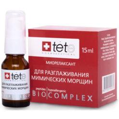 TETe Биокомплекс миорелаксант для коррекции мимических морщин  BIOCOMPLEX ANTI-MIMIC STOP