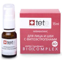 TETe Биокомплекс аквабаланс для лица, шеи, декольте с фитоэстрогенами 40+