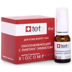 TETe თვალის კანის გამაახალგაზრდავებელი ბიოკომპლექსი BIOCOMPLEX REJUVENATING LIFTING FOR EYES 35/40+