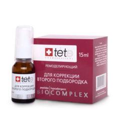 TETe ბიოკომპლექსი მეორე ნიკაპის (ღაბაბის) კორექციისთვის BIOCOMPLEX REMODELING