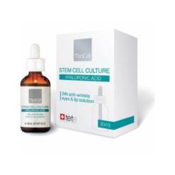 TETe MediCell Комплекс/Сыворотка против морщин вокруг глаз и губ HYALURONIC ACID 24 ANTI-WRINKLE EYES&LIP SOLUTION