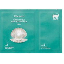 JMSOLUTION ალგინატის ნიღაბი მარგალიტის ექსტრაქტით MARINE LUMINOUSE PEARL MODELING MASK