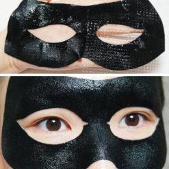 MEDIHEAL თვალის კანის ნაოჭების საწინააღმდეგო ნიღაბი აბრეშუმის პეპტიდებით BLACK EYE ANTI-WRINKLE MASK