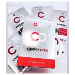 TETe კარბოქსითერაპიის არაინვაზიური ერთსაფეხურიანი ნიღაბი პეპტიდების კომპლექსით CARBOXY PRO CO2