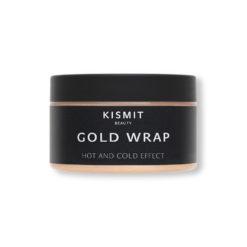 KISMIT BEAUTY ტანის გასახდომი ნიღაბი ოქროთი ცხიმების წვის ეფექტით GOLD WRAP HOT AND COLD EFFECT