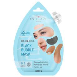 INSTITUTE ESTELARE Очищающая пенящаяся черная маска для лица BLACK BUBBLE MASK