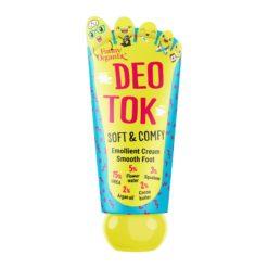 FUNNY ORGANIX DEO TOK Смягчающий крем-уход для ног SOFT&COMFY